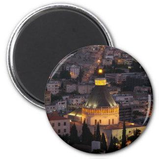 Nazareth, the city of Jesus parents Magnet