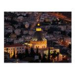Nazareth, the city of Jesus parents Postcard