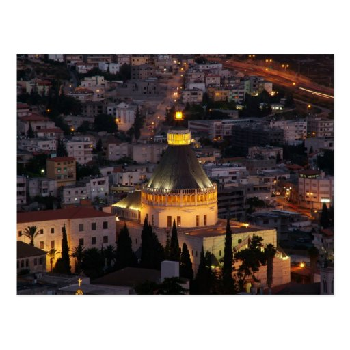 Nazareth, the city of Jesus parents Post Card