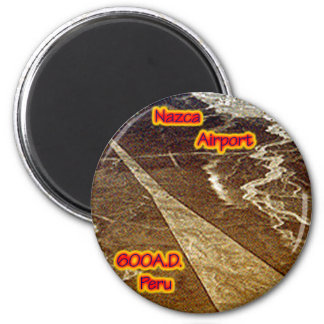Nazca Airport 600A.D Magnet