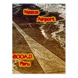 Nazca Airport 600A.D Postcard