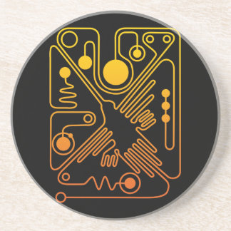 Nazca Hummingbird 3 Coaster