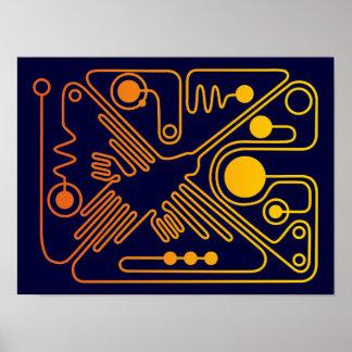 Nazca Hummingbird 3 Poster