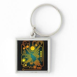 Nazca Hummingbird (G) Keychains