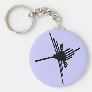 Nazca Hummingbird Keychain