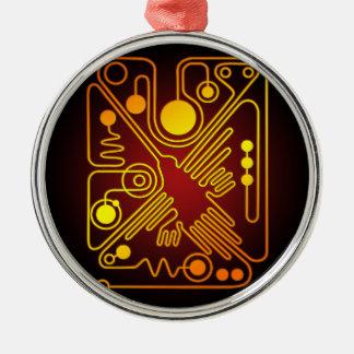Nazca Hummingbird Metal Ornament
