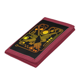 Nazca Hummingbird Tri-fold Wallets