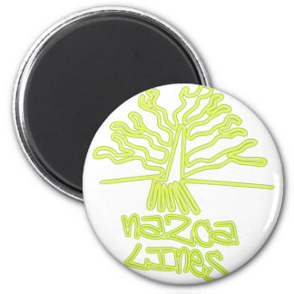 Nazca_Lines 2 Inch Round Magnet