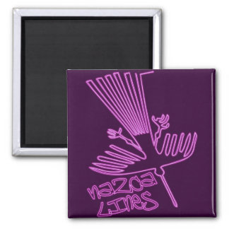 Nazca_Lines 2 Inch Square Magnet