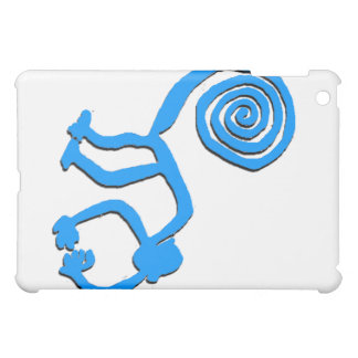 Nazca Monkey in Baby Blue Case For The iPad Mini