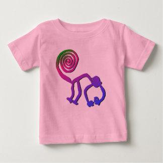 Nazca Monkey in Flower 2 Baby T-Shirt