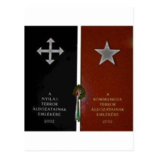 Nazi and Communist Terror Postcard