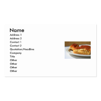 Nazook Pastry Business Card
