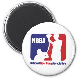 NBBA, cerveza de Nationatl Bong la asociación Imán Redondo 5 Cm