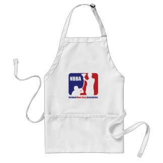NBBA, Nationatl Beer Bong Association Adult Apron