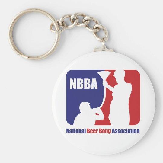 NBBA, Nationatl Beer Bong Association Keychain
