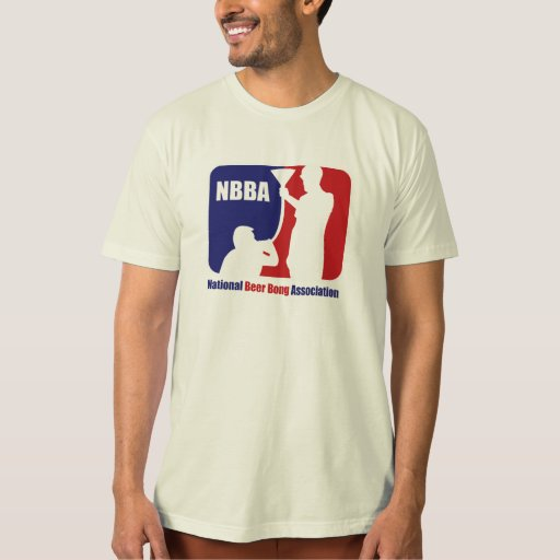 NBBA, Nationatl Beer Bong Association Tee Shirt
