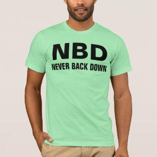nbd black text T-Shirt