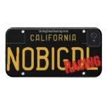 NBD Cali que compite con BLCKPL8 Case-Mate iPhone 4 Carcasas