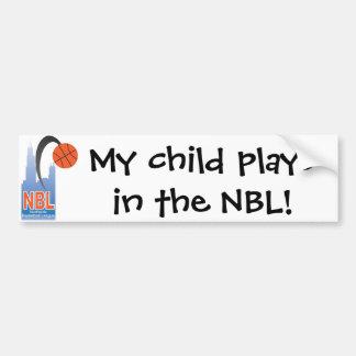 NBL Bumper Sticker
