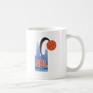 NBL SWAG CLASSIC WHITE COFFEE MUG