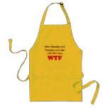 nbmvhfm adult apron