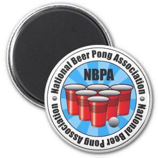 NBPA National Beer Pong Association Starburst Magnet