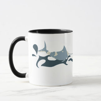nc 0412 Blue Marlin Mug