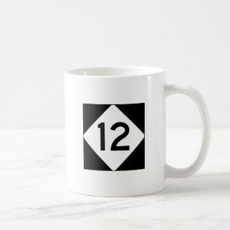 NC 12 CLASSIC WHITE COFFEE MUG