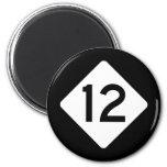 NC 12 FRIDGE MAGNETS