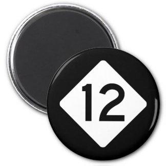 NC 12 2 INCH ROUND MAGNET