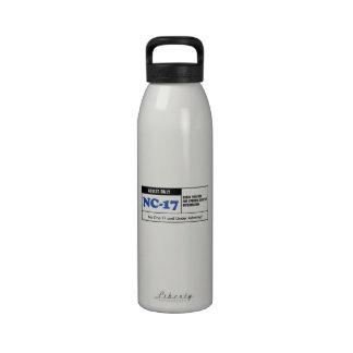 NC-17 clasificado Botellas De Beber