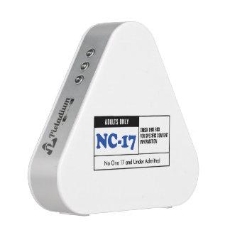 NC-17 clasificado Altavoz Bluetooth
