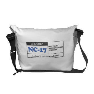 NC-17 clasificado Bolsa Messenger
