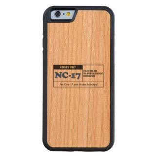 NC-17 clasificado Funda De iPhone 6 Bumper Cerezo