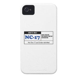 NC-17 clasificado Carcasa Para iPhone 4 De Case-Mate