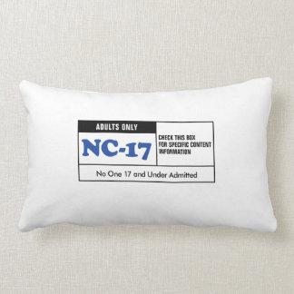 NC-17 clasificado Almohadas