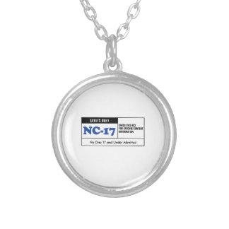 NC-17 clasificado Colgante Redondo