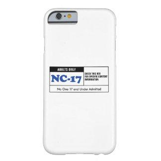 NC-17 clasificado Funda Barely There iPhone 6
