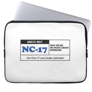 NC-17 clasificado Funda Portátil