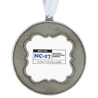 NC-17 clasificado Adorno Ondulado De Peltre