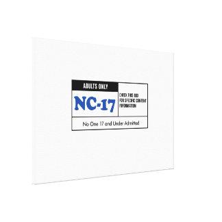 NC-17 clasificado Impresiones En Lona