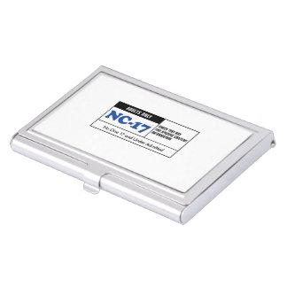 NC-17 clasificado Cajas De Tarjetas De Visita