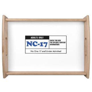 NC-17 clasificado Bandejas