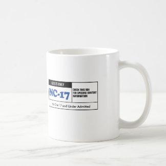 NC-17 clasificado Taza De Café
