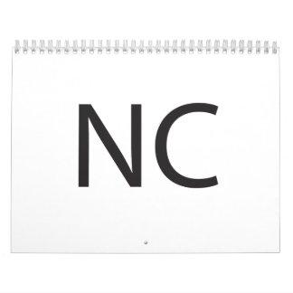 NC WALL CALENDAR