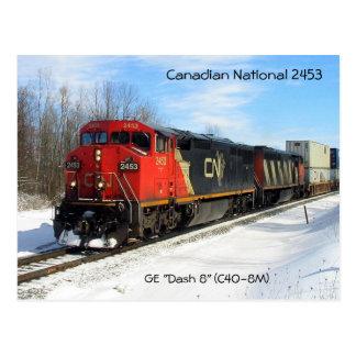 """NC canadiense 2453 del nacional - GE """"estralla 8""""  Postales"""