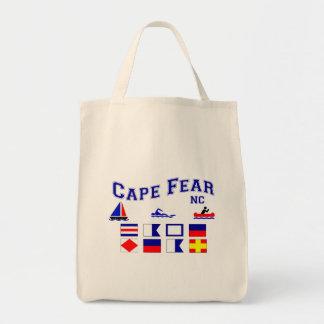 NC Cape Fear Signal Flags Tote Bag