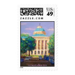 """NC Capitol"" Postage Stamp"