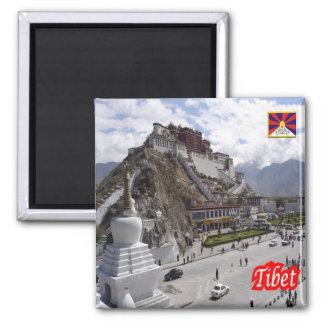 NC - China - Tíbet Imán Cuadrado